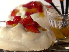 Berry Pavlovas - Melissa d'Arabian's dessert is light, fruity and, best of all, heart-smart. From lightened-up cheesecake and brownies to tempting fruit desserts, we've got healthy dessert ideas from Food Network. Heart Healthy Desserts, Healthy Dessert Recipes, Sweet Desserts, Healthy Food, Food Network Recipes, Food Processor Recipes, Cholesterol Lowering Foods, Cholesterol Symptoms, Cholesterol Levels