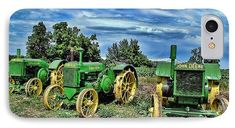 John Deere Tractors IPhone 8 Case for Sale by Ken Smith. Protect your iPhone 8 with an impact-resistant, slim-profile, hard-shell case. The image is printed directly onto the case and wrapped around the edges for a beautiful presentation. Simply snap the case onto your iPhone 8 for instant protection and direct access to all of the phone's features!