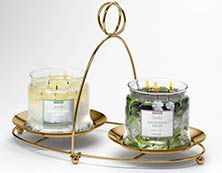 2 3-wick candles from PartyLite on £29.95!