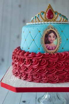 Elena de Avalor 4th Birthday Parties, Girl Birthday, Dummy Cake, Kids Party Themes, Cupcake Party, Frozen Party, Princess Party, Birthdays, Ideas