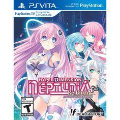 PS Vita - Hyperdimension Neptunia Rebirth 2: Sisters Generation