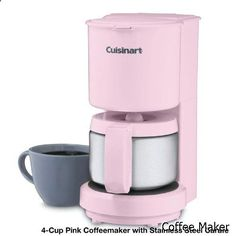 Coffee Maker - Cuisinart DCC-450 4-Cup Coffeemaker with Stainless-Steel Carafe