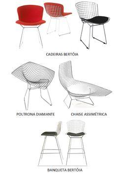 História das Cadeiras: Harry Bertóia