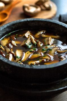 NYT Cooking: For a full meal in a bowl, serve this deeply flavorful soup with warm brown rice or noodles.
