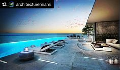 #Repost @architecturemiami with @repostapp Love this rooftop pool at the three story Penthouse at Turnberry Ocean Club this ocean front condominium is located at 18501 Collins Avenue Sunny Isles Beach Florida. They are raising the bar in luxury. These oceanfront residences comprised of 154-grand three four five and six-bedroom units starting at $4M. Contact us for this home or any other investment property in Miami @realestateinvest DM or Whatsapp Sebastian13052446222 #turnberryoceanclub…