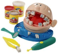 Playdoh Dentist Set - Play-doh Dr. Drill and Fill Toy