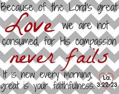 worthyoftheprize.com: Free February Scripture Printable: Love Never Fails