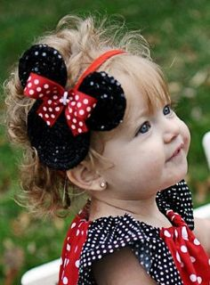 Minnie Mouse Sparkle Headband