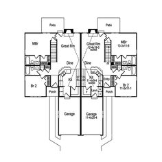 Highland Multi-Family Home Plan 007D-0025 | House Plans and More