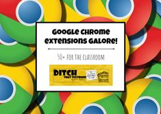 Chrome Extensions for the Classroom.  Record a video of your screen. Split the screen of your web browser. Block ads. Keep digital sticky notes. Even make your phone ring to end a conversation that's gone on too long. Google Chrome extensions turn your Chrome web browser into a veritable Swiss Army knife of versatile options. There are thousands of these […]