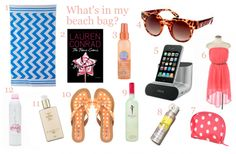 ♒Surf and Turf ♒  Beach Bound: Whats in YOUR Beach Bag? ☀CQ  #summer #beach and #margaritas