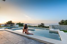 Faidra's Eleonas Villa - Authentic Crete, Villas in Crete, Holiday Specialists Greece Holiday, Heating And Air Conditioning, Heated Pool, Stone Houses, Open Plan Living, Pool Houses, How To Make Bed, Private Pool, Luxury Villa