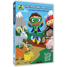 """SUPER WHY DVD """"The T"""