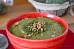 Crema de brócoli y cebolla dulce | #Recetas de cocina | #Veganas - Vegetarianas ecoagricultor.com