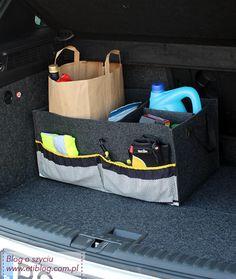 jak uszyć organizer do bagażnika samochodowego - tutorial