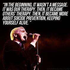 My Chemical Romance ~ Gerard Way Mcr Quotes, Mcr Memes, Band Quotes, Band Memes, Qoutes, Emo Bands, Music Bands, My Chemical Romance, Music Stuff