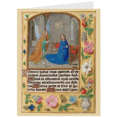annunciation illumination holiday cards the met store
