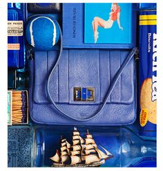 Anya Hindmarch's Global March - A visual from the Anya Hindmarch ad campaign.
