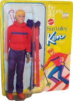 1974 Sports Set Sun Valley Ken #7809