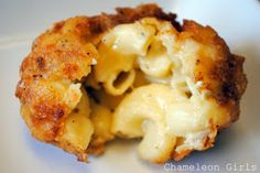 Chameleon Girls: Fried Mac N Cheese Balls