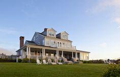 Nantucket Cliffs residence. Interior designer Jeannie Balsam,...