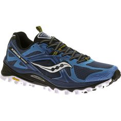 Las Saucony Xodus 5.0 son unas zapatillas de #Trail #Running robustas y además cuentan con una suela #vibram XS-Trek