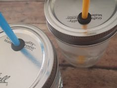 Mason Jar Spill Proof Cup