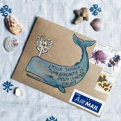 Basteln / Kreativzeit Art mail How to Sell Your Diamond Ring Most advertising campaigns by De Beers Pen Pal Letters, Letter Art, Letter Writing, Tarjetas Diy, Mail Art Envelopes, Snail Mail Pen Pals, Paper Art, Paper Crafts, Decorated Envelopes