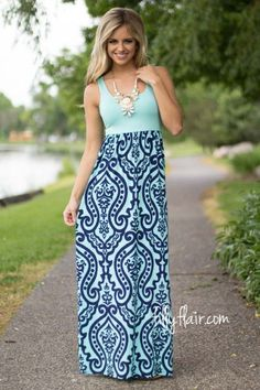 Time of My Life Printed Maxi