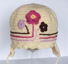 Detské čiapky - Nežná jarnuľka (skladom) - 2406338