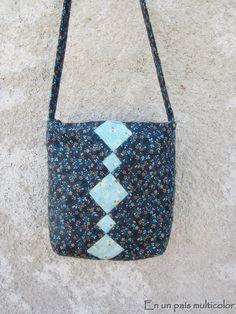 Patchwork Seminole Messenger Bag
