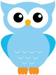 12 Different Color Printable Owl Clipart of Owl Clip Art, Owl Art, Owl Templates, Applique Templates, Owl Illustration, Owl Cartoon, Applique Patterns, Felt Patterns, Baby Owls