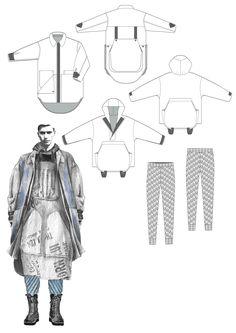 Fashion Sketchbook - fashion design drawings; fashion portfolio // Georgia Mottershead