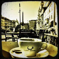 Caffe' Bernini, Piazza Navona, Roma, Italia