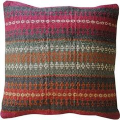 Herat Oriental Indo Kilim Throw Pillows (Set of Two) - Overstock™ Shopping - The Best Prices on Herat Oriental Throw Pillows & Covers