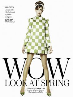 Victoria Lee by Walter Chin for UK Glamour February 2013