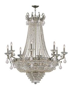Alexandria+20-Light+Chandelier+at+Neiman+Marcus.