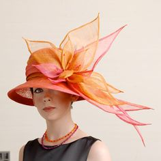 """""""Kate"""" handmade hat by KathleenMcAuliffe. Loving the color mix and look on this hat. #judithm"""