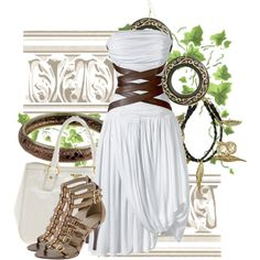"""""""Greek godess look"""" by tonje on Polyvore"""