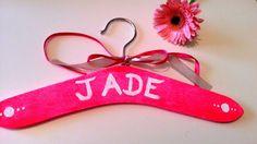 Cintre personnalisé diy Jade