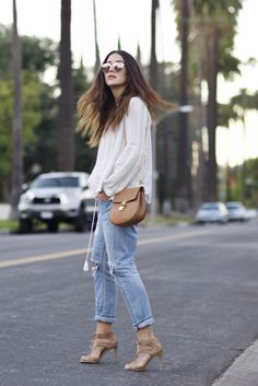 Los Angeles Style, wearing Chloé,Citizen of Humanity and Dior