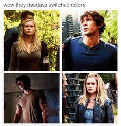 Season 1 / Season 4 <3 #bellarke
