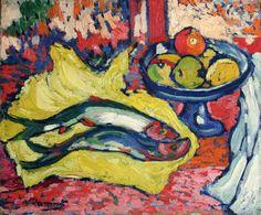 maurice-de-vlaminck-still-life-with-fish-1905