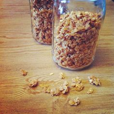 Battling the Home Front: Clean Eating Peanut Butter Granola