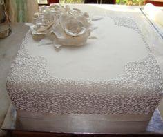 Square Cake Single Tier