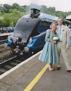 Celebrate your big day by steam train - for an extra special touch Romantic Proposal, Party Catering, Cathedrals, Big Day, Weddingideas, Riding Helmets, Touch, Events, Train