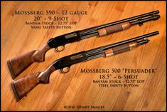 Old School - Mossberg 500s