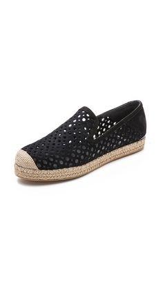 Want these too!! Stuart Weitzman County Nubuck Espadrilles