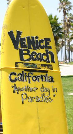"Venice Beach, California - ""Another day in paradise.""   Plan your getaway on the ""Pinterest of travel"" - CarryOn.com"