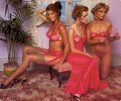 """""""when women were real"""" - What Victoria's Secret models looked like in 1979"""